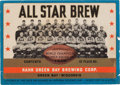 Football Collectibles:Others, 1936 World Champion Green Bay Packers Rahr Brewing Corp. Beer Label. ...