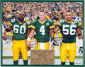 Football Collectibles:Photos, 2007 Green Bay Packers Oversized Captains Photograph Presented to Brett Favre. ...