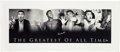 Boxing Collectibles:Autographs, Circa 2000 Muhammad Ali Signed Oversized Canvas Photograph Collage Display....