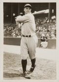 Baseball Collectibles:Photos, 1928 Lou Gehrig Original News Photograph, PSA/DNA Type 1. ...