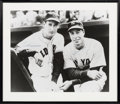 Baseball Collectibles:Photos, 1990's Joe DiMaggio & Ted Williams Signed Oversized Photograph....