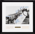 Baseball Collectibles:Photos, 1959 New York Yankees Multi-Signed Oversized Photograph Display....