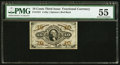 Fractional Currency:Third Issue, Fr. 1251 10¢ Third Issue PMG About Uncirculated 55.. ...