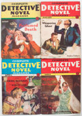 Pulps:Detective, Complete Detective Novel Magazine Group of 8 (Radio-SciencePublications, 1931-32) Condition: Average VG.... (Total: 8 Items)