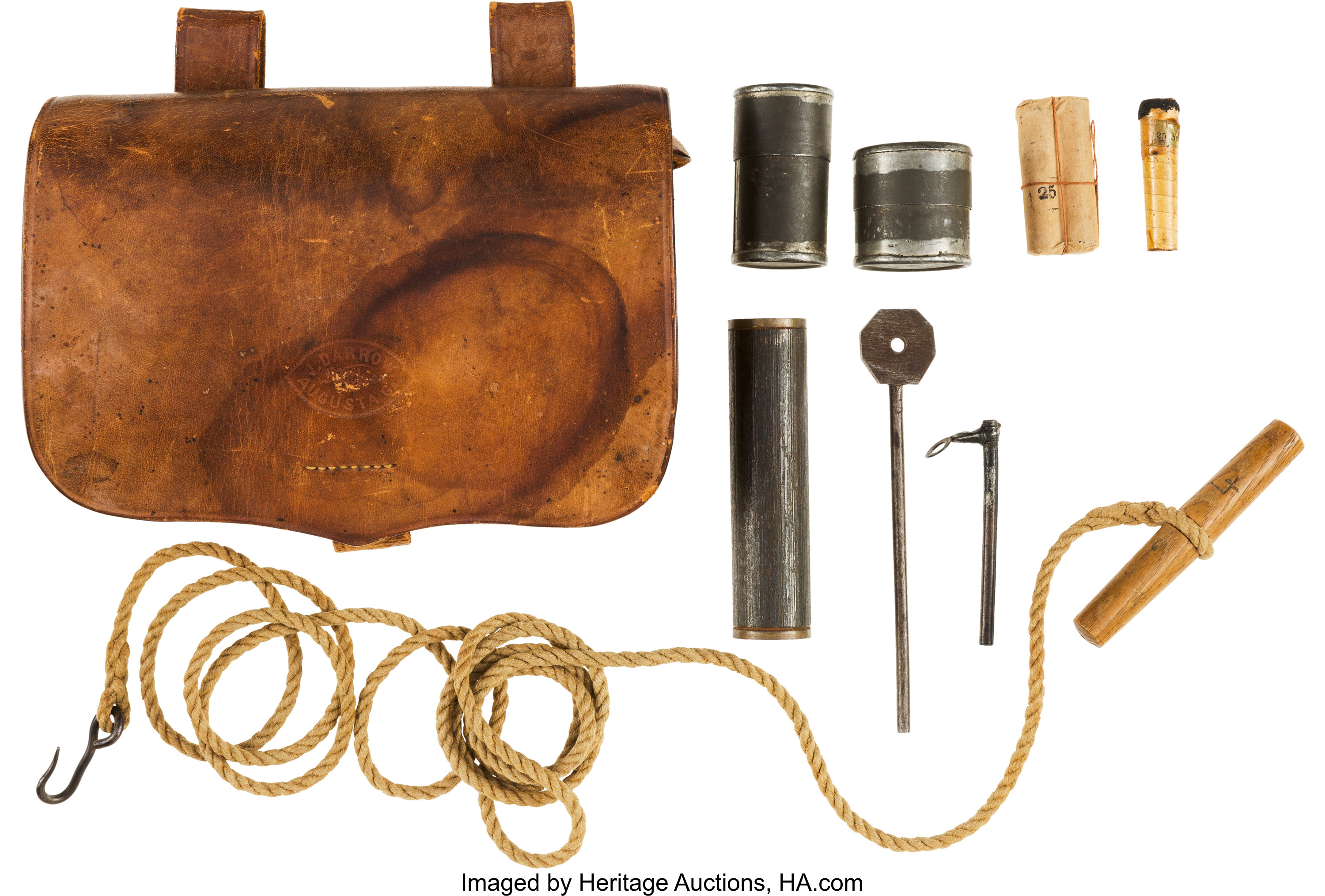 [DIAGRAM_5UK]  Confederate Artillery Implements & Augusta Fuse Box.... (Total: 2 | Lot  #40137 | Heritage Auctions | Vintage Cannon Fuse Box |  | Heritage Auctions
