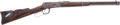 Long Guns:Lever Action, Winchester Model 1894 Saddle Ring Carbine with Northwest CoastIndian-carved Stock. ...
