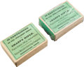 Ammunition, Lot of 2 Boxes of Antique Sharps Rifle Ammunition by UMC.... (Total: 2 )