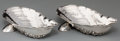 Silver Holloware, American:Open Salts, Two Gorham Narragansett-Style Clam-Form Clam Servers, Providence,Rhode Island, late 19th century. Marks: (lion-anchor-G), ...(Total: 2 Items)