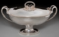 Silver & Vertu:Hollowware, A Jacques Henri Fauconnier Silver Covered Soup Tureen, Paris, France, circa 1819-1838. Marks: (Vieillard-1), (large guarante...