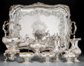 Silver Holloware, American:Tea Sets, An Eight-Piece Howard & Co. Silver Tea and Coffee PresentationService Gifted to Emily Vanderbilt Sloane, New York, circa 18...(Total: 7 Items)