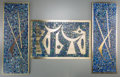 Decorative Accessories, Three Sigfrido Pineda Mixed Metal and Mosaic Hardstone Plaques, Taxco, 20th century. Marks: Sigi. 19-1/2 inches high x 7... (Total: 3 Items)