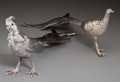 Silver Smalls, A Pair of Peruzzi Silver Pheasants, Florence, Italy, mid-20thcentury. Marks: PERUZZI, SILVER, 800, FLORENCE. 7 inchesl... (Total: 2 Items)