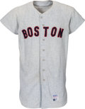 Baseball Collectibles:Uniforms, 1970 Mike Andrews Game Worn Boston Red Sox Jersey. ...