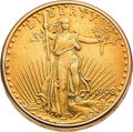 Timepieces:Pocket (post 1900), Piaget $20 Saint Gaudens Gold Coin Watch Signed Cartier. ...