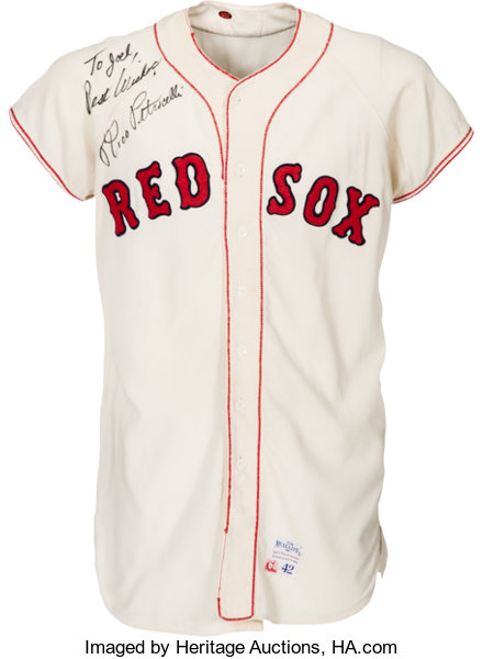 1966 Rico Petrocelli Game Worn   Signed Boston Red Sox  e3454aed243