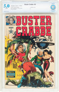 Golden Age (1938-1955):Adventure, Buster Crabbe #5 (Famous Funnies Publications, 1952) CBCS VG/FN 5.0White pages....