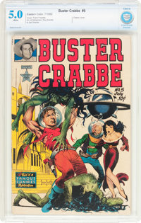 Buster Crabbe #5 (Famous Funnies Publications, 1952) CBCS VG/FN 5.0 White pages