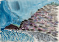 Works on Paper, Milton Avery (American, 1885-1965). Rippled Rock and Rippled Sea, 1938. Watercolor on paper. 22-1/4 x 30-1/2 inches (56....