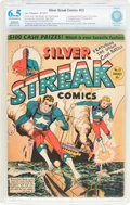 Golden Age (1938-1955):Superhero, Silver Streak Comics #13 (Lev Gleason, 1941) CBCS Restored (Slight/Moderate) FN+ 6.5 Off-white to white pages....