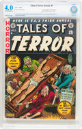 Golden Age (1938-1955):Horror, Tales of Terror Annual #3 (EC, 1953) CBCS VG 4.0 Off-white to whitepages....