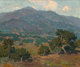 Edgar Alwin Payne (American, 1883-1947) California Foothills with San Gabriel Mountains in the Distance Oil on canvas