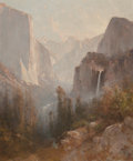 Fine Art - Painting, American:Antique  (Pre 1900), Thomas Hill (American, 1829-1908). Yosemite, 1892. Oil oncanvas. 24 x 20 inches (61.0 x 50.8 cm). Signed and dated lowe...