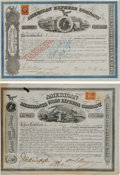 Autographs, American Express Company Stock Certificates (2).. ... (Total: 2Items)