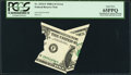 Error Notes:Miscellaneous Errors, Fr. 1915-F $1 1988A Federal Reserve Note. PCGS Gem New 65PPQ.. ...