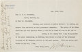 Autographs:Statesmen, William Jennings Bryan Typed Letter Signed....