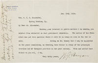 William Jennings Bryan Typed Letter Signed
