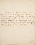 Autographs, Robert Walpole Autograph Letter Signed in the Third Person....