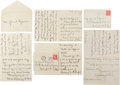 Autographs:U.S. Presidents, Edith Bolling Wilson Autograph Letters (3) Signed. ... (Total: 3 )