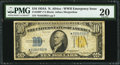 Small Size:World War II Emergency Notes, Fr. 2309* $10 1934A North Africa Silver Certificate with Late Finish Face Plate #86. PMG Very Fine 20.. ...