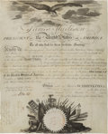 Autographs:U.S. Presidents, James Madison Signed Naval Appointment....