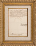 "Autographs, Philip III, King of Spain, Letter Signed ""Yo el Rey""...."