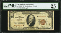 Fr. 1860-F* $10 1929 Federal Reserve Bank Note. PMG Very Fine 25