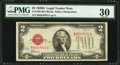 Small Size:Legal Tender Notes, Fr. 1505 $2 1928D Legal Tender Note. PMG Very Fine 30.. ...