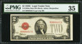 Small Size:Legal Tender Notes, Fr. 1504 $2 1928C Mule Legal Tender Note. PMG Choice Very Fine 35.. ...