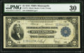 Large Size:Federal Reserve Bank Notes, Fr. 773 $2 1918 Federal Reserve Bank Note PMG Very Fine 30.. ...