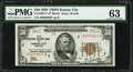 Fr. 1880-J* $50 1929 Federal Reserve Bank Note. PMG Choice Uncirculated 63