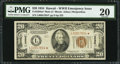 Small Size:World War II Emergency Notes, Fr. 2304* $20 1934 Mule Hawaii Federal Reserve Note. PMG Very Fine 20.. ...