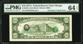 Error Notes:Third Printing on Reverse, Fr. 2024-G $10 1977A Federal Reserve Note. PMG Choice Uncirculated 64 EPQ.. ...