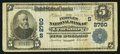 National Bank Notes:Virginia, Lynchburg, VA - $5 1902 Plain Back Fr. 598 The Peoples NB Ch. #(S)2760. ...