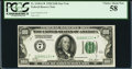 Small Size:Federal Reserve Notes, Fr. 2150-G* $100 1928 Federal Reserve Note. PCGS Choice About New 58.. ...