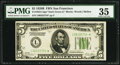 Small Size:Federal Reserve Notes, Fr. 1952-L* $5 1928B Federal Reserve Note. PMG Choice Very Fine 35.. ...