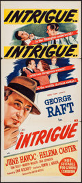 "Movie Posters:Adventure, Intrigue (United Artists, 1947). Australian Daybill (13.25"" X30.25""). Adventure.. ..."
