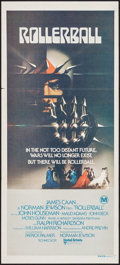 "Movie Posters:Science Fiction, Rollerball (United Artists, 1975). Australian Daybill (13.25"" X30""). Science Fiction.. ..."