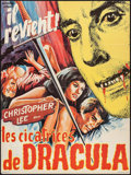"""Movie Posters:Horror, Scars of Dracula (Alcifrance, 1971). French Affiche (22.5"""" X30.5""""). Horror.. ..."""