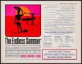 """Movie Posters:Sports, The Endless Summer (Cinema 5, 1965). Promotional Handout (8"""" X 11""""). Sports.. ..."""
