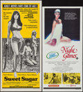 "Movie Posters:Bad Girl, Sweet Sugar & Other Lot (Dimension, 1972). Australian Daybills(2) (13.5"" X 29.75""). Bad Girl.. ... (Total: 2 Items)"